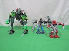 Lego Bionicles Titan Warriors Karzahni 8940 Set 3 Figures 99% Complete