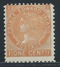 P.E.I. #11(5)1872 1 cent brown orange QUEEN VICTORIA Perf 11.5 MNH CV$8.00