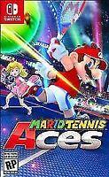 Mario Tennis Aces (Nintendo Switch, 2018) - FREE SHIPPING!