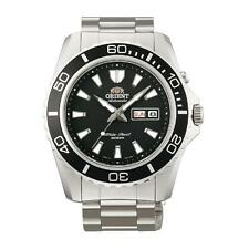 Mechanische (automatische) Orient Armbanduhren mit Edelstahl-Armband