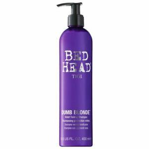 Tigi Bed Head Dumb Blonde Purple Toning Shampoo - - - UK