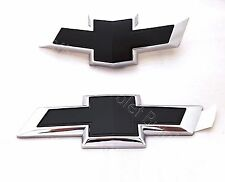 Front and Rear Black Bowties 2017 2018 Chevy Cruze Hatchback OEM GM Free Ship