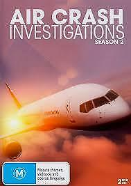 Air Crash Investigations Season 2  (DVD , 2 Disc Set  BRAND NEW REGION ALL
