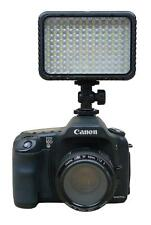 130-LED Dimmer Video Light Lamp for Canon Eos Nikon Camera Brightness Adjustable
