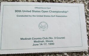 PHIL MICKELSON'S 1ST EVER U.S. OPEN-1990 U.S. OPEN-MEDINAH-PHIL WAS LOW AMATEUR
