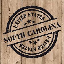 Vinilo de Corte South Carolina Pegatina Carolina del Sur USA United States 10 cm
