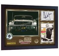 Steve McQueen Bullitt Signed Autographed photo Print poster film dvd Framed