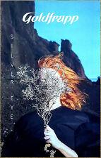GOLDFRAPP Silver Eye 2017 Ltd Ed RARE Poster +FREE Dance Pop Electronica Poster!