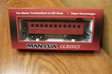 MANTUA CLASSICS 1860 COACH WOODEN PASSENGER CAR PENNSYLVANIA RR #428 HO SCALE