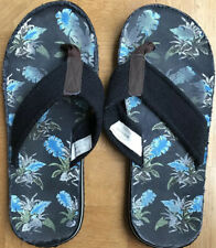 Flip Flops Canvas Size 8 Or EUR 42 Colour Black