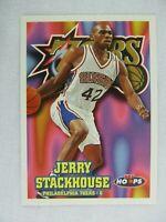 Jerry Stackhouse Philadelphia 76ers 1997 NBA Hoops Basketball Card 116