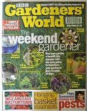 BBC Gardeners' World Magazine. May, 1998. Design a herb garden. Lay a patio.