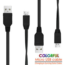 [1-10 Pack] Colorful Micro USB Cable 5Pin Fast Charging Charger Phone Cord 3FT