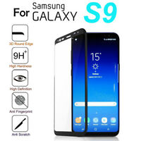 3D Full Cover Curved Tempered Glass Screen Protector For Samsung Galaxy S9