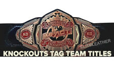 Impact Knockouts Tag Team Championship Wrestling Belt Adult Size