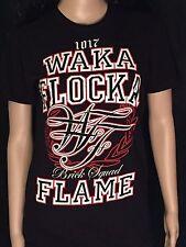 Waka Flocka Flame Brick Squad 1017 Artist Music Rapper Womens Small S T-shirt