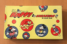 WALT DISNEY  HAPPY SNEAKERS  GOLD SEAL  BOX ONLY  MICKEY MOUSE  C. 1970'S