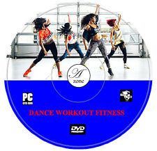Dance Fitness Exercise Workout Cardio Weight Fat Loss DVD