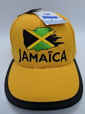 ab80af682da JAMAICA World Cup France  98 ISL Snapback Adjustable Cap Hat NWT Embroidered