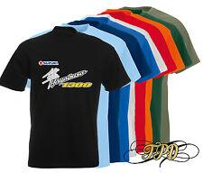 CUSTOM SUZUKI HAYABUSA 1300 T-shirt en noir (tailles S M L XL XXL)