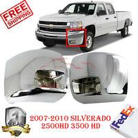 New GM1016108 LH Side Chrome Bumper End for Chevrolet Silverado 2500 HD 2007-10