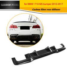 Carbon Fiber  Rear Diffuser back bumper lip fit for BMW F10 M5 Bumper 2012-2017