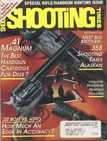 Shooting Times Magazine September 1992 Special Rifle/Handgun Hunting Issue