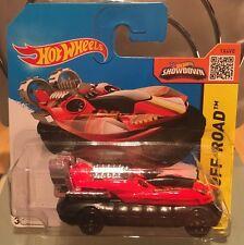 2015 Hot Wheels Off-Road Red Black Hover Storm SHORT CARD