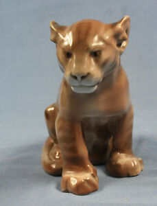 Tiger löwe Willy Zügel rosenthal porzellanfigur porzellan 1928 figur,sehr selten
