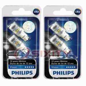 2 pc Philips Back Up Light Bulbs for Maserati Ghibli 2014-2020 Electrical qn