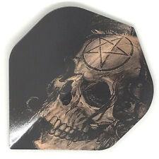 Dart Flights DARTS SKULL Standard Shape EXTRA STRONG Alchemy Samain Skull COPPER