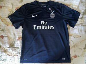 Nike PSG PARIS SAINT-GERMAIN THIRD JERSEY 2015/16 XXL 2XL Free Shipping Black