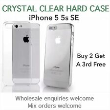 iphone 5 5s iPhone SE crystal clear thin hard case wholesale