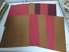 New listing 10X Patterned Papers/Cardboard For Scrapbooking 30X21 Cm (Pd22)