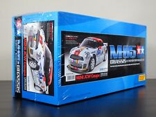 Rare Tamiya 1/10 M05 M05-L Mini JCW Coupe w/ESC EP Car Kit #58520 (Discontinued)