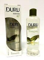 DURU Zitronen Duftwasser Kolonya Limon Kolonyasi 400ml