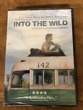 "INTO THE WILD ""DVD"" NEW, STILL SEALED 2007 (CC)"