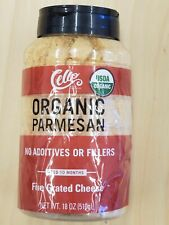 Cello Organic Grated Parmesan Cheese 18 oz - No Additives / Fillers (see notes)