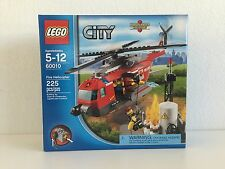 LEGO CITY FIRE HELICOPTER 60010 RETIRED 225 PIECES BRAND NEW