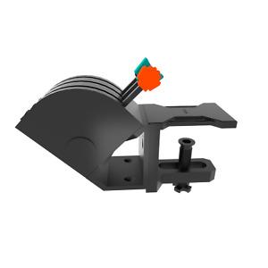45 Degree Tilt Adapter For Saitek/Logitech Flight Sim Throttle Quadrant