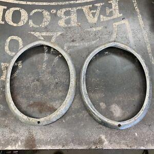 1939 Studebaker Champion Coupe Chrome Headlight Ring Custom