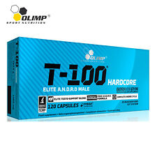 T-100 HARDCORE Maximum Testosterone Increase Male Hormone Booster - TOP QUALITY