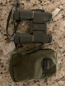 Vintage Leupold 9x25A gold ring compact binoculars Made By Leica