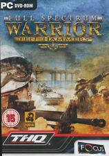 Full Spectrum Warrior TEN HAMMERS Tactical PC Game NEW!