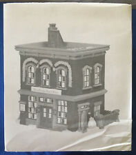 Department 56 Woodbridge Post Office, Retired New England Village.