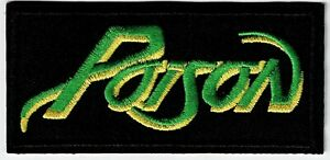 POISON - LOGO - IRON or SEW-ON PATCH