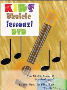 Kids Ukulele Lesson Z DVD Learn how to play a Ukulele!