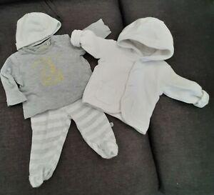 Baby Erstlingsset Gr. 50/56 4 tlg