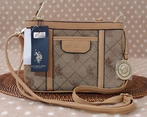 AUTHENTIC US POLO ASSN FULTON CROSSBODY BAG