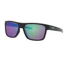 Oakley golf cross range OO9371-1257 sunglasses Polished Black Prizm Golf Oakley